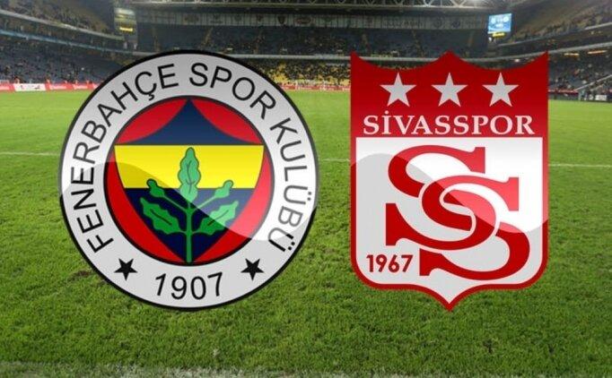 Fenerbahçe Sivasspor maçı özeti! FB Sivas maçı kaç kaç bitti?
