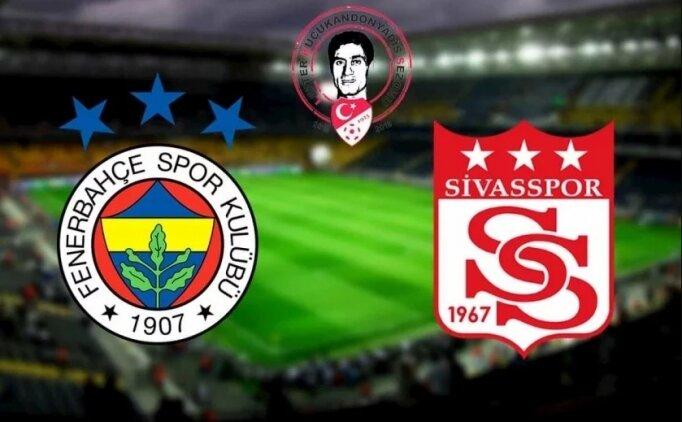 İZLE Fenerbahçe Sivasspor maçı özet, Fenerbahçe Sivasspor GOLLERİ