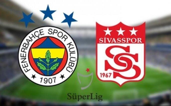 Fenerbahçe Sivasspor golleri izle, Fenerbahçe Sivasspor ÖZET İZLE