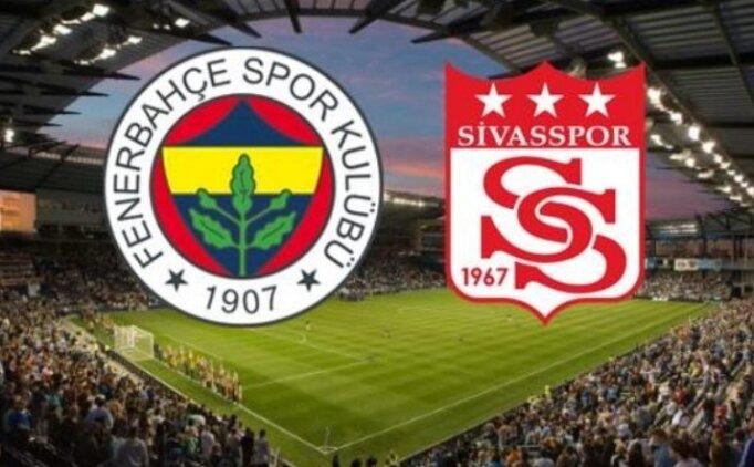 ÖZET Fenerbahçe Sivasspor maçı golleri İZLE