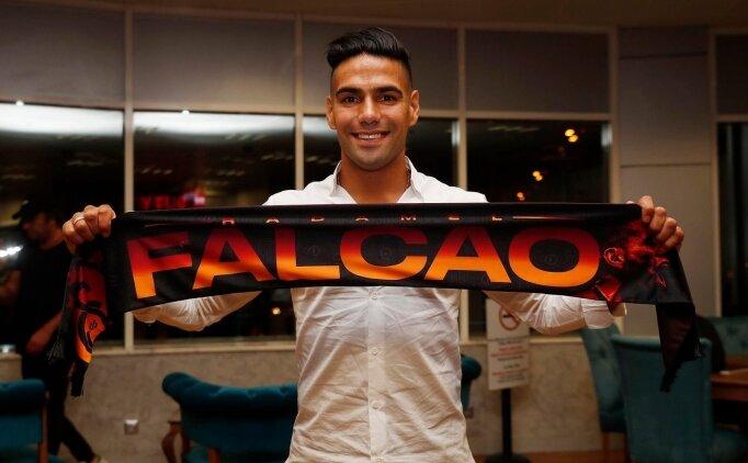 Radamel Falcao; 'Galatasaray'ı seçtim, çünkü...'
