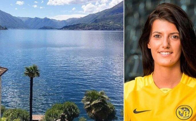 İsviçreli kadın futbolcu gölde boğuldu!