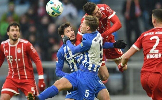 Hertha Berlin Bayern Münih maçı saat kaçta? Hertha Berlin Bayern Münih hangi kanalda?