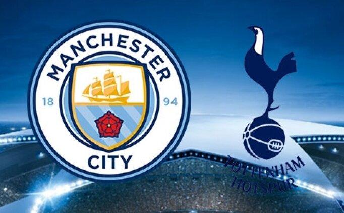 Manchester City Tottenham maçı canlı hangi kanalda? Manchester City Tottenham saat kaçta?