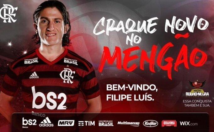Filipe Luis, Flamengo'ya imza attı!