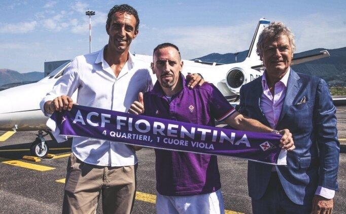 Franck Ribery, Fiorentina'ya transfer oldu!