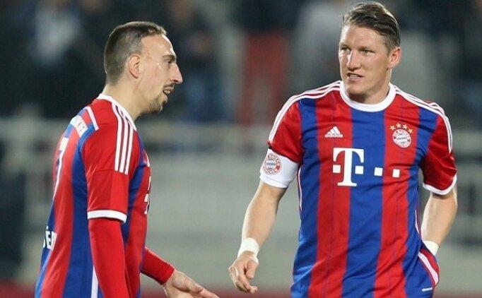 Schweinsteiger: 'Franck Ribery en iyisi'