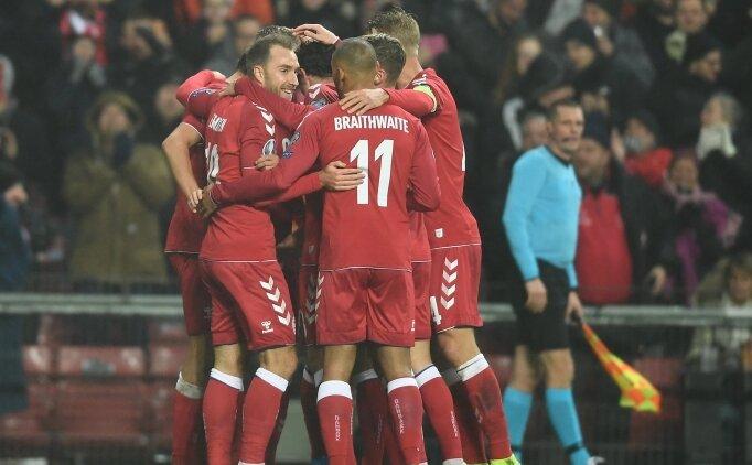 Zanka oynadı, Danimarka fark attı! 6 gol...