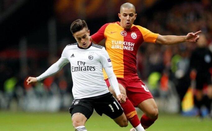 Benfica-Galatasaray! Muhtemel 11'ler