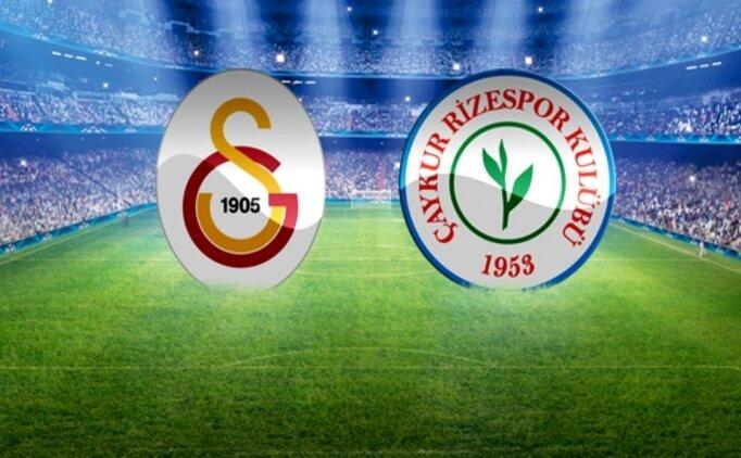 Galatasaray Rizespor maçı geniş özet izle, Galatasaray Rizespor golleri