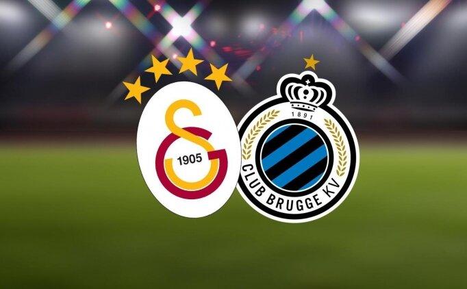 Galatasaray Club Brugge maçı özet görüntüleri, GS golleri izle