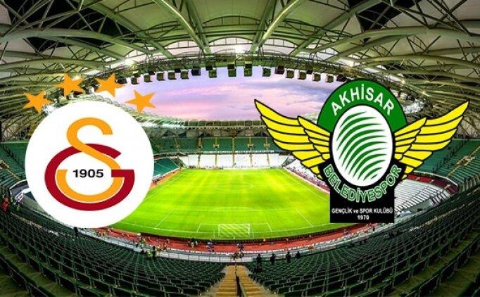 Galatasaray Akhisarspor maçı nerede oynanacak? GS Akhisar hangi kanalda yayınlanacak?