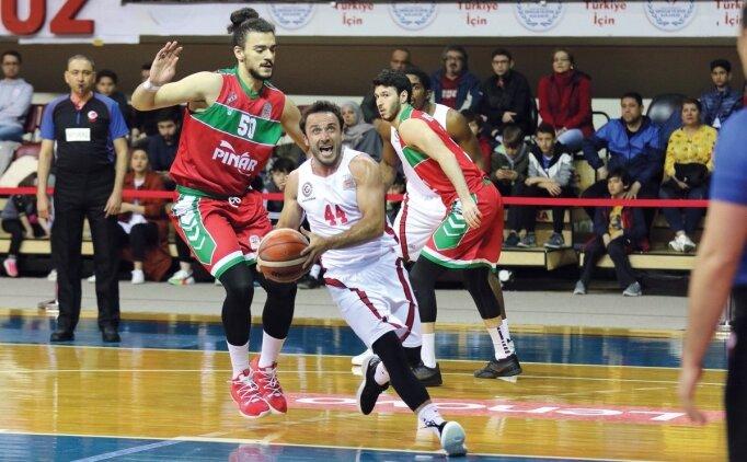 Gaziantep Basketbol, Karşıyaka'yı 74-73 geçti!
