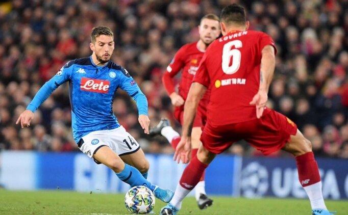 Liverpool 1 puanı Lovren ile kurtardı! Napoli...