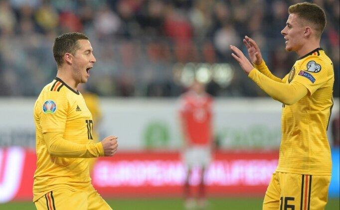 Eden Hazard: 'Kardeşime gol attırdım, mutluyum'