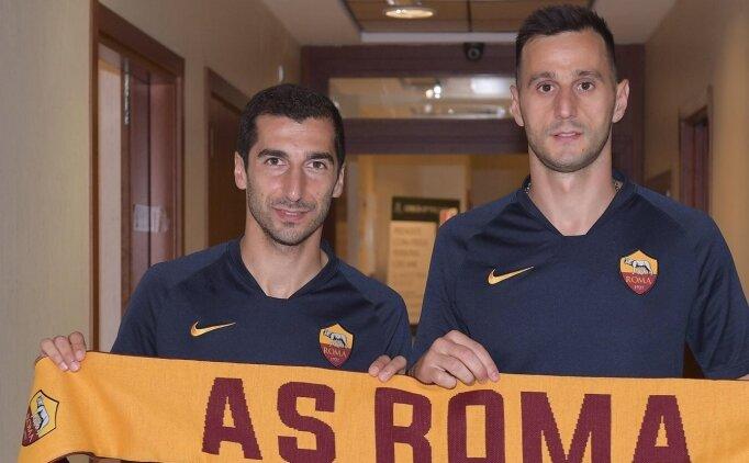 Kalinic ve Mkhitaryan, Roma'ya imza attı!