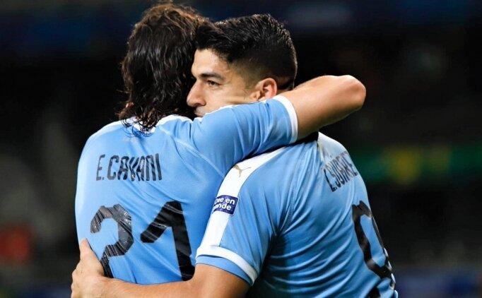 Uruguay, Ekvador'un fişini ilk 45'te çekti!
