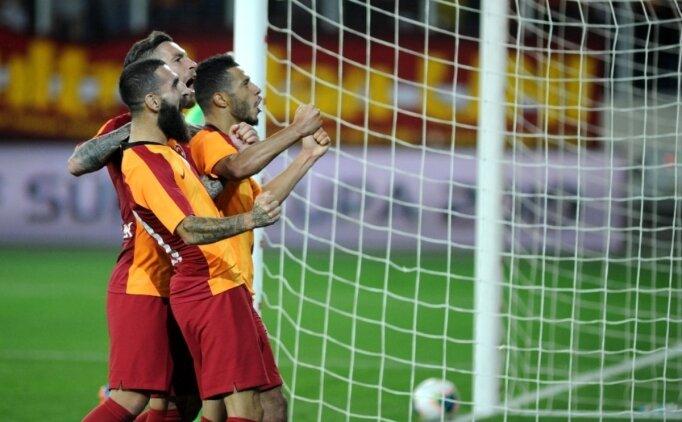 Galatasaray, Süper Lig'e iyi başlıyor