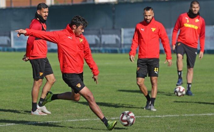 Göztepe, kupadaki Fatih Karagümrük maçının hazırlıklarını tamamladı
