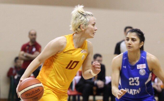 Galatasaray, Hatay BB'u 70-59 ile geçti, yarı finale çıktı!