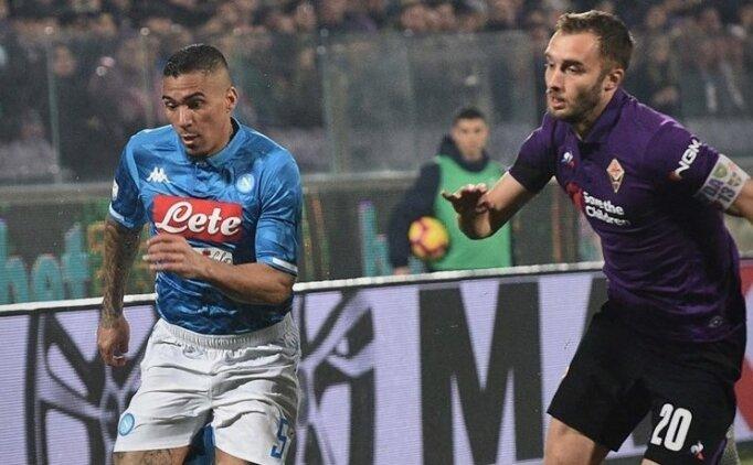 Napoli'ye Fiorentina'dan çelme!