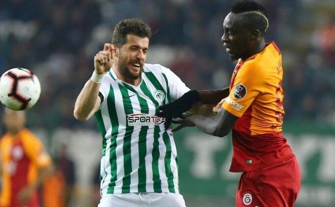 Konyaspor, İstanbul'da Galatasaray'a diş geçiremiyor