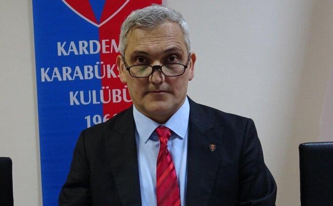 Karabükspor'da Giresun sevinci: 'Bizlere moral oldu'