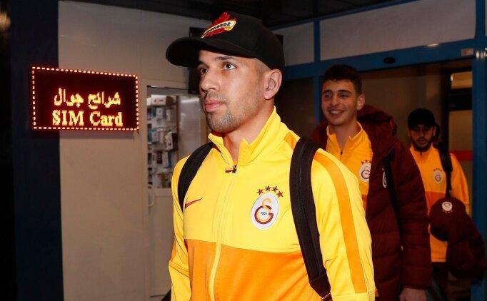 Galatasaray kafilesi Trabzon'a geldi