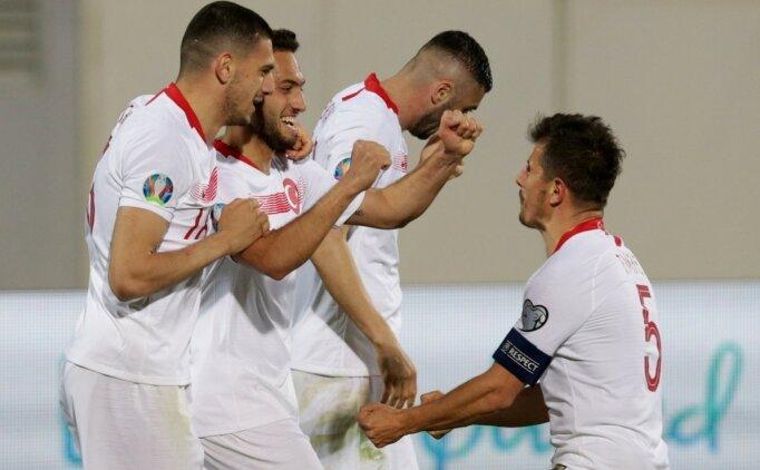 A Milliler, Arnavutluk'ta 2 golle 3 puanı kaptı!