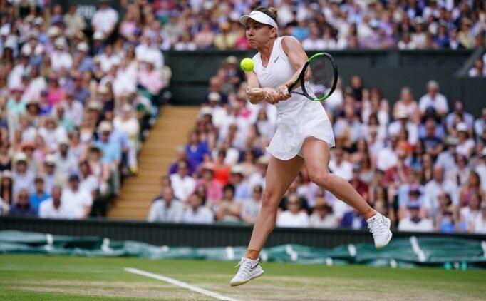 Wimbledon'da şampiyon Simona Halep!