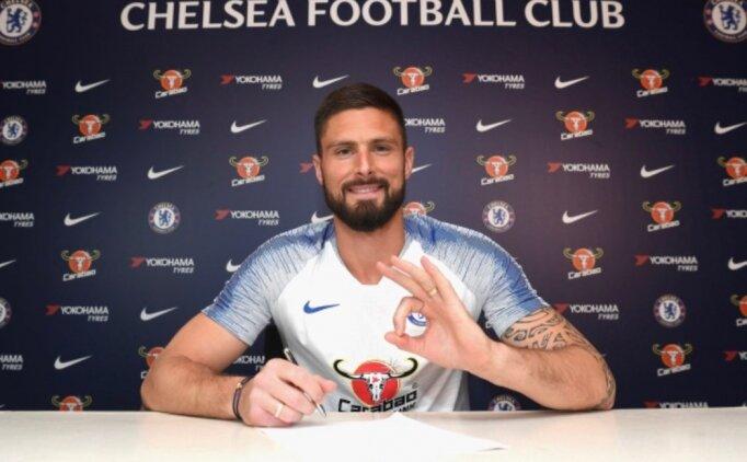 Chelsea, Giroud'da mutlu sona ulaştı