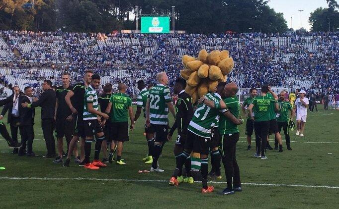 Portekiz Kupası penaltılarla Sporting'in!