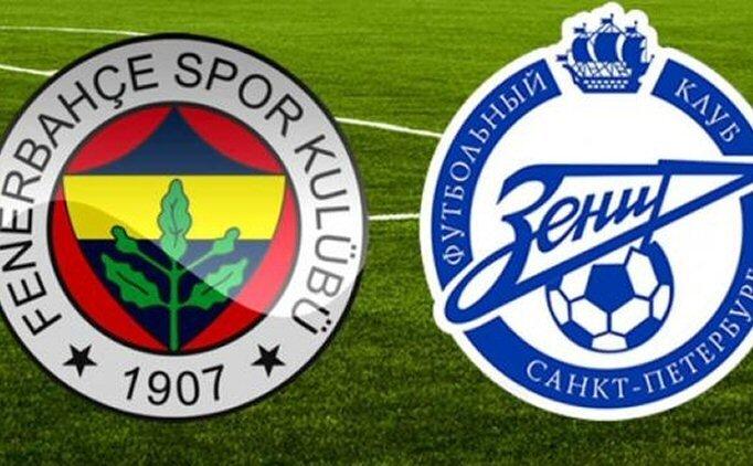ÖZET İZLE Fenerbahçe Zenit maçı geniş özet görüntüleri