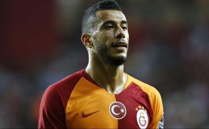 Galatasaray açıkladı: Belhanda'nın çenesinde kırıklar...