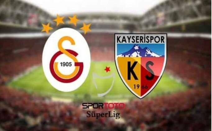 MAÇ ÖZETİ Galatasaray Kayserispor maçı