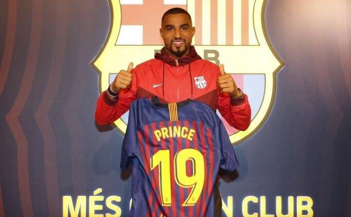 Barcelona Boateng'i transfer etti