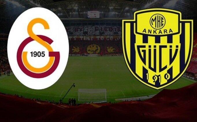 Galatasaray 6-0 Ankaragücü özeti, pozisyonları izle! G.Saray'dan tarihi fark