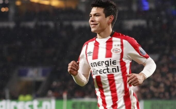 Hirving Lozano, PSV Eindhoven'yu ipten aldı