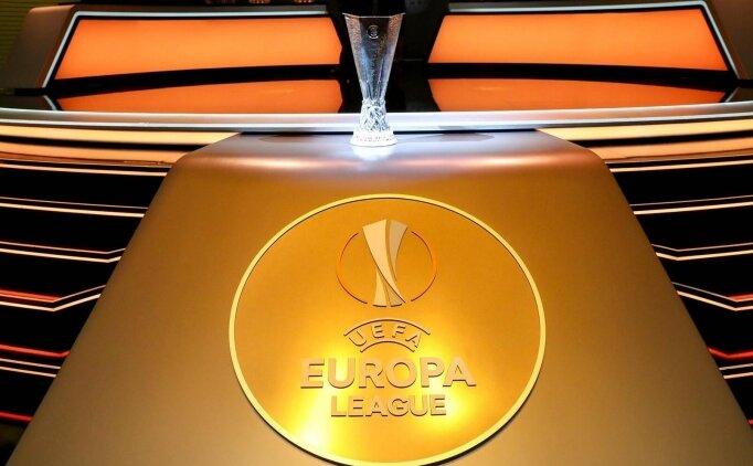 Başakşehir'in rakibi belli oldu! İşte UEFA Avrupa Ligi'nde eşleşmeler