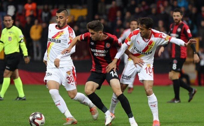 Göztepe, Karagümrük'ü ilk maçta yendi