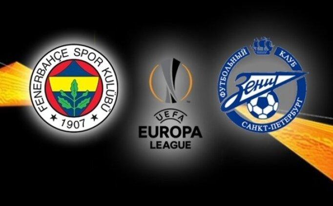 Fenerbahçe - Zenit, Bilyoner'de 'Tek Maç'