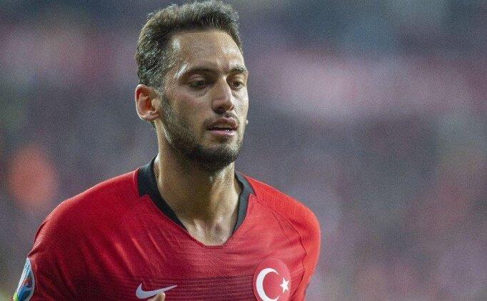 Hakan Çalhanoğlu: 'İnşallah erken gideriz'