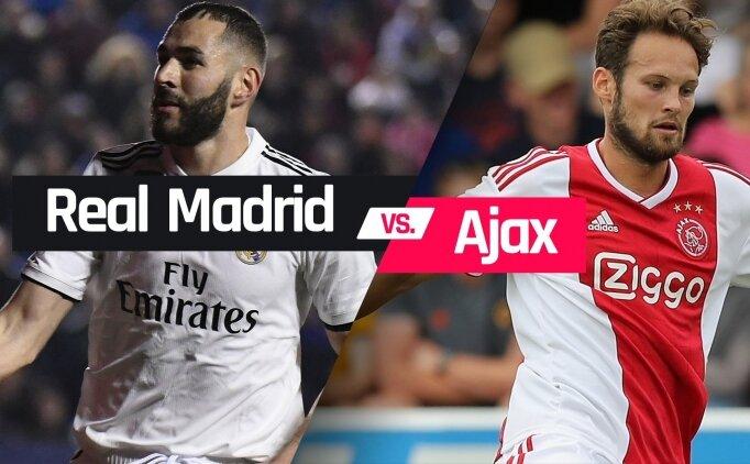 Real Madrid'in rakibi Ajax! Tur için...