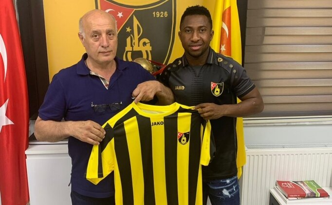 Joseph Mensah, İstanbulspor'a transfer oldu!
