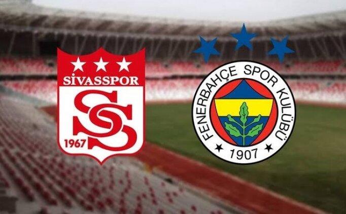 Sivasspor Fenerbahçe bedava izle, Sivasspor Fenerbahçe CANLI İZLE