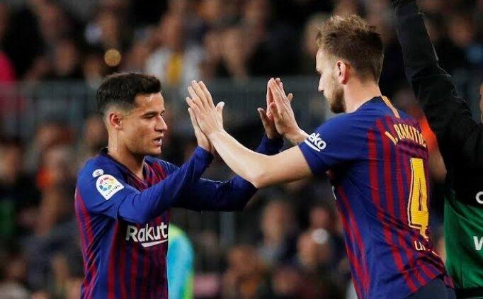 Barcelona'nın acil satış planı: Coutinho-Rakitic