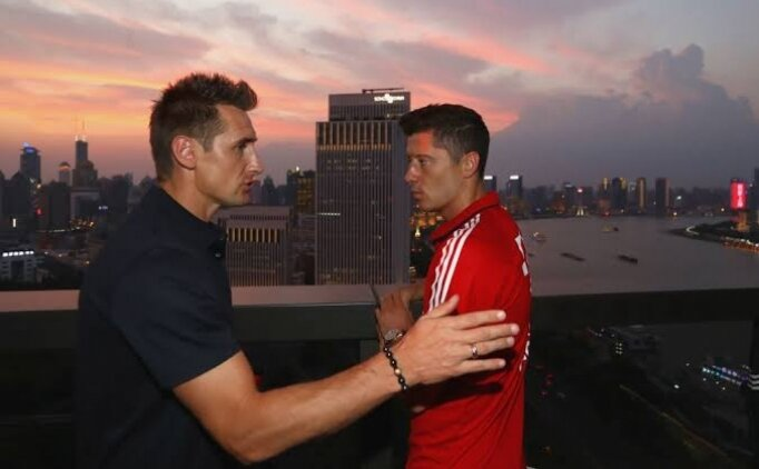 Klose: 'Lewandowski benden 10 kat daha iyi'