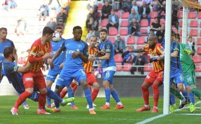 Bilyoner.com ile maç önü: Kayserispor - Kasımpaşa
