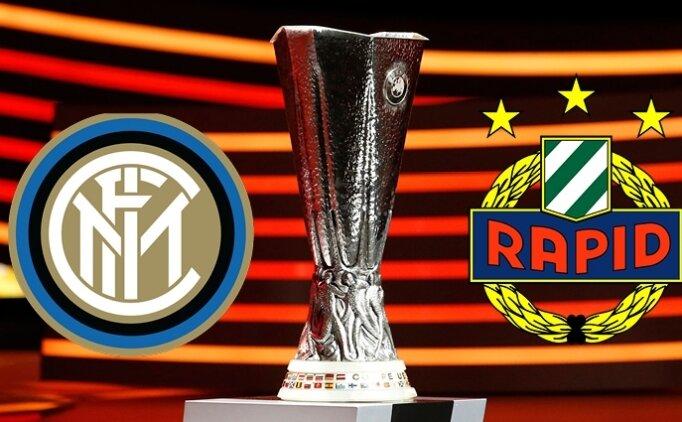 Rapid Wien Inter maçı canlı hangi kanalda? Rapid Wien Inter maçı saat kaçta?