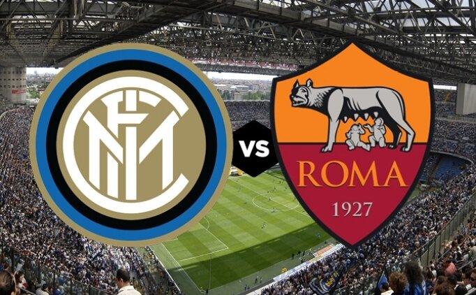 Inter Roma maçı canlı hangi kanalda? Inter Roma saat kaçta?